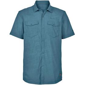 VAUDE Iseo Shortsleeve Shirt Men blue